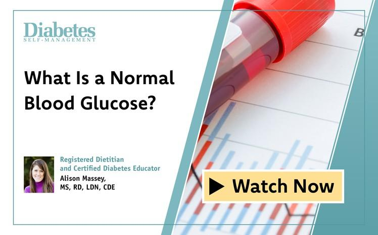 What Is a Normal Blood Glucose?